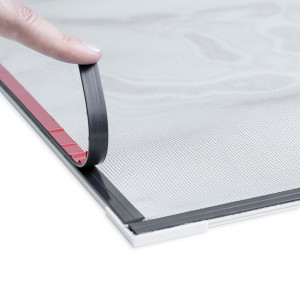 Tela Mosquiteira Magnética Janela - Kit 90 x 90 cm